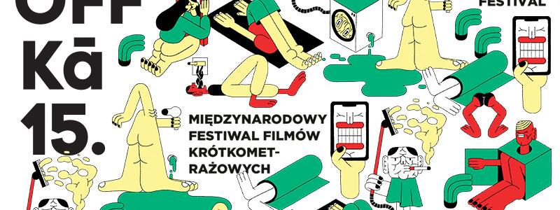 """Białostocki Ośrodek Kultury – DKF """"GAG"""" informuje o nowym terminie 15. edycji Międzynarodowego Festiwalu Filmów Krótkometrażowych ŻUBROFFKA!"""
