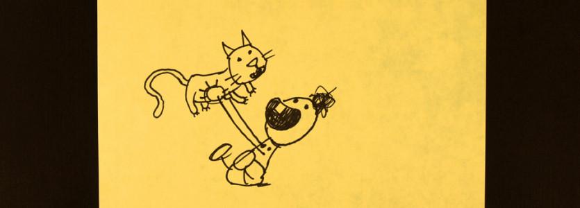 Pokaz zestawu animacji YELLOW STICKY NOTES – CANADIAN ANIJAM w Supraślu